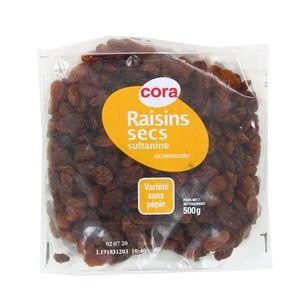 Cora Raisins secs sultanine