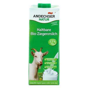 Andechser Natur Lait de chèvre bio entier 3,0 % MG