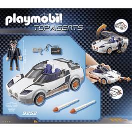 PLAYMOBIL® Top Agent Voiture de l'agent Pilote