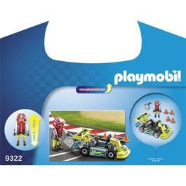 PLAYMOBIL® Action Valisette Pilote de karting