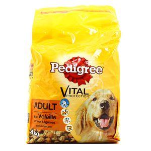 pedigree croquettes chien adulte vital protection volaille et lgumes 4kg. Black Bedroom Furniture Sets. Home Design Ideas