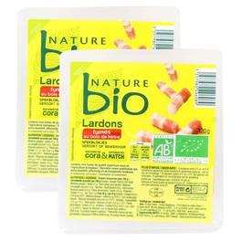 Nature Bio Lardons fumés bio