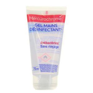 Mercurochrome Gel hydro-alcoolique anti-bacterien mains