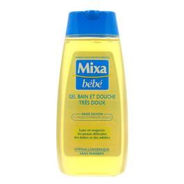 Mixa Bébé Gel bain et douche très doux