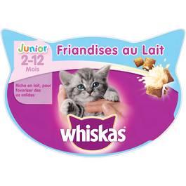 Whiskas Friandises au lait pour chaton Junior