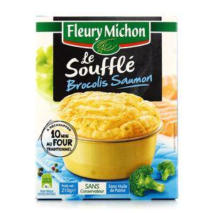 Fleury Michon Soufflé saumon brocolis 210g