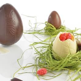 Mastrad Moules à oeufs en chocolat