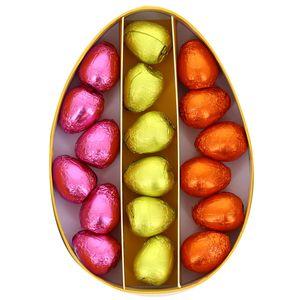 Chocolaterie Monbana Coffret 18 petits œufs au praliné 3 recettes