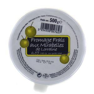 Isigny Fromage frais à la mirabelle