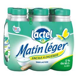Lactel Lait écrémé Matin Léger