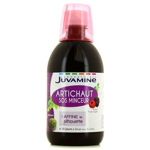 Juvamine Artichaut SOS Minceur, 500ml : houra.fr