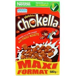 Nestlé Chokella, céréales au blé complet  goût noisette