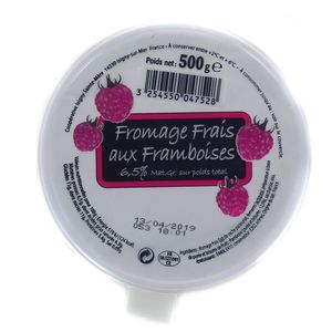 Isigny Fromage frais à la framboise