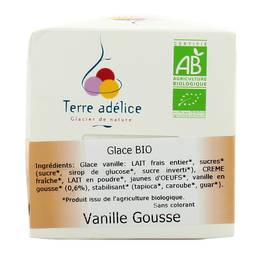 Terre Adelice Pot glace vanille Bio 500ml