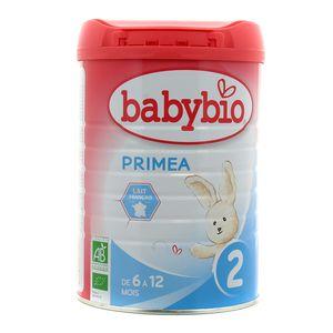 Babybio Lait 2ème âge Priméa Bio
