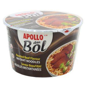Apollo Dan Bol Nouilles instantanées saveur boeuf rôti