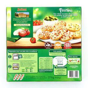 Buitoni Piccolinis 9 Mini pizzas bolognaise 9x30g