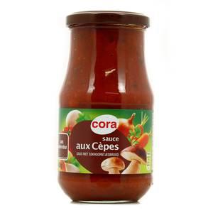 Cora Sauce aux cèpes