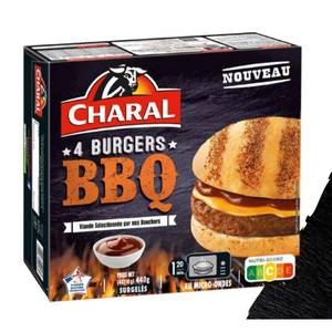 Charal 4 Burgers Barbecue 4x110g