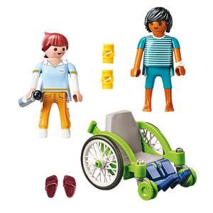 PLAYMOBIL® City Life Patient en fauteuil roulant