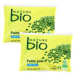 Nature Bio Petits pois très fins Bio