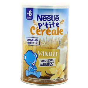 Nestlé Céréales infantille à la vanille, dès 6 mois