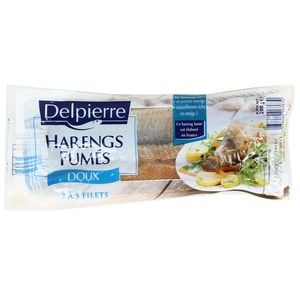 Delpierre Filets de Harengs fumés doux