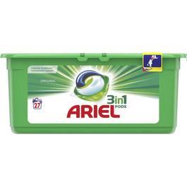 Ariel Lessive Eco-dose Pods 3en1 Original
