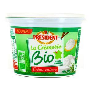 Président Crème Fraîche épaisse Biologique 30% M.G