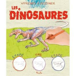 Apprends a dessiner- Dinosaures
