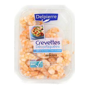 Delpierre Crevettes Nature, Décortiquées