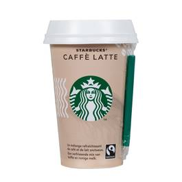 Starbucks Chilled Cup Caffé Latte