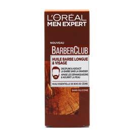 L'Oréal Men Expert Huile barbe longue et visage au bois de cèdre