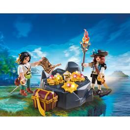 PLAYMOBIL® Pirates Pirates et trésor royal
