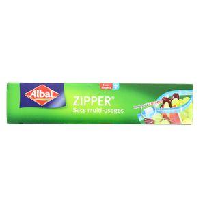 Albal Sacs zipper multiusages 3 litres