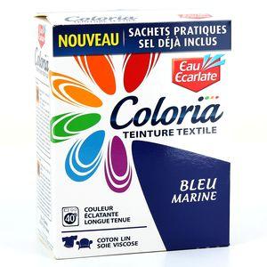 eau ecarlate teinture textile bleu marine 50 teinture 300 sel fixateur g. Black Bedroom Furniture Sets. Home Design Ideas