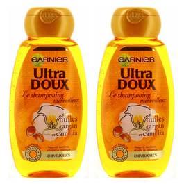 Garnier - Ultra Doux Shampooing merveilleux à l'huile d'argan et camélia