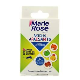 Marie Rose Patchs apaisants après moustiques dès 3 ans