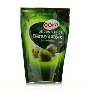 Cora Olives vertes dénoyautées