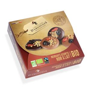 Les Chevaliers d'Argouges Mandiants au chocolat noir bio