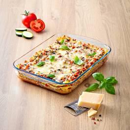 Pyrex Plat à lasagnes recangulaire verre Essentials