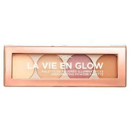L'Oréal Palette de poudres illuminatrices highlight la vie en glow