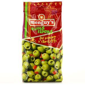 Menguy's Olives farcies au piment d'espelette.