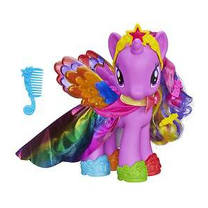 Poney 20 cm mode arc en ciel- My Little Pony
