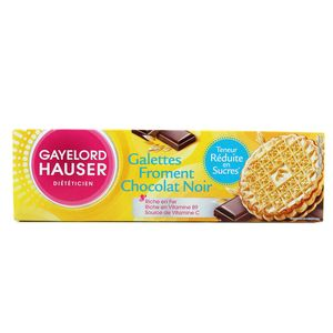 Gayelord Hauser Galette de froment au chocolat noir