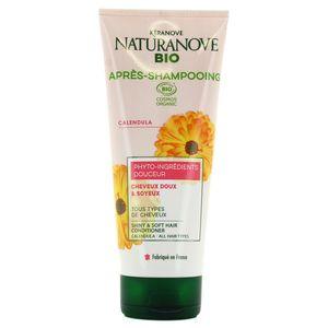 Kéranove - Naturanove Après-Shampooing au calendula pour les cheveux doux et soyeux Ecocert