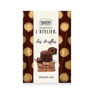 Les Recettes de l'Atelier Truffes éclats de fève de cacao