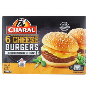 Charal 6 Cheese burgers