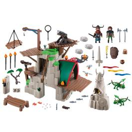 PLAYMOBIL® Dragons Campement de l'ile de Beurk