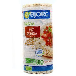 Bjorg Galettes de riz quinoa bio